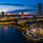 Esplanades, Marina Bay, Singapore